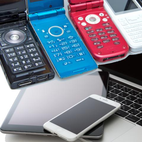 携帯電話・スマホ・パソコン イメージ画像